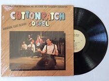 HARRY CHAPIN Cotton Patch COTTONPATCH GOSPEL vinyl LP Musical Original CAST MINT