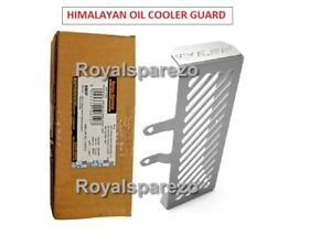 Royal Enfield  Oil Cooler Guard Aluminum Silver For Himalayan 411 CC