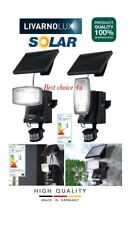 Livarno Lux Led Solar Spotlight,with 10 High Quality Leds With Motion Detector