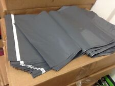 More details for strong grey plastic mailing bags poly postal postage post self seal - all sizes