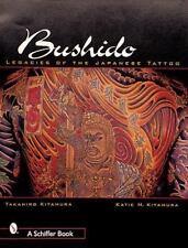 Bushido Legacies of the Japanese Tattoo Color Book Like New! Asian FREE SHIPPING