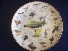 "Danbury Mint Readers Digest The Birds Of Britain ""Large Waders"" plate"