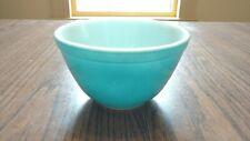 Pyrex 401 1-1/2 pt Primary Color Blue Bowl