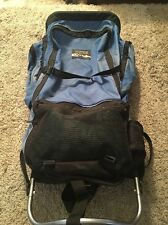 Vintage Jansport Blue External Frame Backpack, Made In USA!