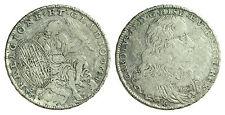 pci0616) Regno di Napoli Carlo II (1674-1700) Mezzo Ducato 1684 Religione et GL.