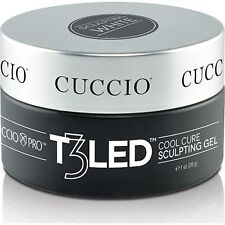Cuccio T3 CONTROLLED LEVELING Cool Cure Sculpting LED/UV gel 1oz (28g) 6 colors
