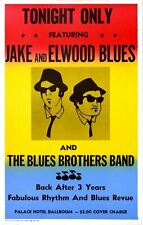 Blues Brothers Retro Metal Wall Plaque Art Vintage Advertising Sign man cave a4
