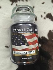 Yankee Candle Stars And Stripes Large Jar Collectors Edition . USA Exclusive