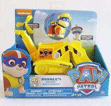 Paw Patrol  Rubble's Digging Bulldozer Kids Toy Nickelodeon TV Cartoons