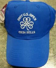 New 2017 Imperial Headwear Us Golf Open Hat Cap, Erin Hills, Cobalt Blue