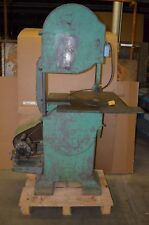 "#20 Crescent Machines 20"" Vertical Woodworking Band Saw w/ Tilting Table"
