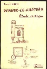 FRANCK MARIE, RENNES-LE-CHATEAU ÉTUDE CRITIQUE (TRÈS RARE !)