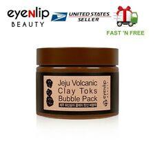 [EYENLIP] Jeju Volcanic Clay Toks Bubble Pack 100g Premium Korean Cosmetic