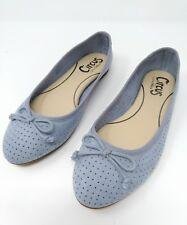f94640eb5711 Circus Sam Edelman Womens Fabric Ballet Flats Sz 6.5 M Blue Vegan Comfort  Shoes