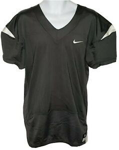 Mens Nike Vapor Pro Football Training Practice Jersey Mesh Black White NWT SZ XL