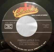 Monarchs & Victorians, Pretty Little Girl / Wedding Bells 1980 Col 45 rpm DooWop