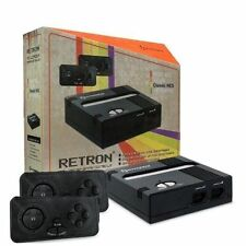 Retron 1 NES System Top Loader Black + 2 Controllers Nintendo Console NEW