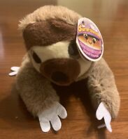 New SURPRIZAMALS WACKYS SERIES 5 SINGLE PLUSH STUFFED ANIMAL SAMUEL SLOTH w/ Tag