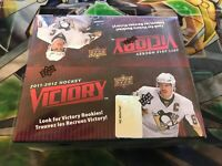 NHL 2011 - 12 Upper Deck Victory Factory Sealed BOOSTER BOX| 1 BOX| RARE