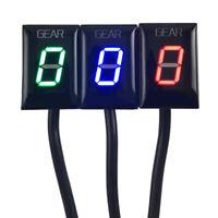 Universal LED Gear Display Indicator for Kawasaki Ninja 300 ZX6R ER6N 0-6 Speeds