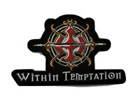 Within Temptation Sew / Iron On Music Festival Embroidered Badge (a)