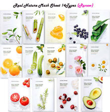 [NATURE REPUBLIC] Real Nature Mask Sheet 14Types (RENEW)*1/3/5/10 sheets - 23ml