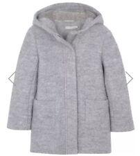 ** Mintie Mint Velvet Girls Grey Marl Paddington Coat Age 8 Years