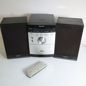 Sony Hi-Fi DAB FM & Remote Micro Stereo System CD Cassette CMT-EH45DAB