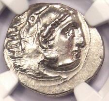 Ionia Miletus Alexander the Great III AR Drachm Silver Coin 200 BC - NGC AU