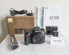 Nikon D7100 Digital SLR Camera Body * EXCELLENT * EU Shipping! Low shutter count