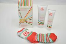Arbonne Pampermint Foot Care Gift Set NIB Holiday with Socks