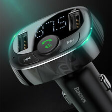 Universal Car Smart Bluetooth Music Player Charger Dual Usb Charging Accessories