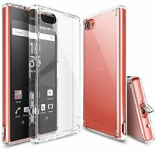 For Sony Xperia Z5 Compact | Ringke [FUSION] Clear PC Back Protective Cover Case