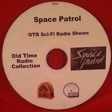 Space Patrol Sci-Fi 100 Old Time Radio Shows Audio Book OTR MP3 CD
