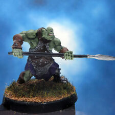 Painted Reaper BONES Miniature Orc attacking with Spear