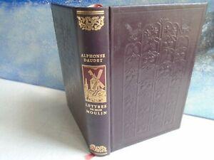 Lettres de mon moulin d'alphonse daudet 1976 jean de bonnot exlibris