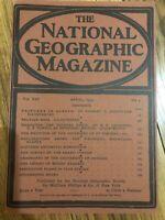 (REPRINT!) National Geographic Magazine April 1903 Vol. XlV No.4, Alaska.