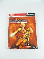 SHADOW HEARTS From the New World PRIMA Official Game Guide PlayStation 2 PS2
