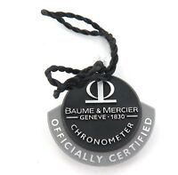 """BAUME & MERCIER CHRONO """"OFFICIALLY CERTIFIRED"""" TAG."""