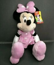 """Mickey Mouse Clubhouse Minnie Mouse Disney Junior 18"""" Pink Plush Stuffed AA111"""
