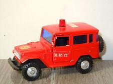Toyota FJ Land Cruiser Fire van Sakura Japan *6138
