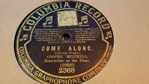 COOPER MITCHELL COME ALONG & WHEN I WAS A BOY AT SCHOOL COLUMBIA 2368