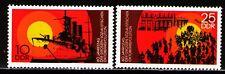 DDR 1977 Sc1848-9 Mi2259-60 2v mnh 60th anniversary of the Russian Revolution