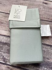 Project 62 + Nate Berkus 2 Pack Pillowcases Silver Green Cotton Polyester  King