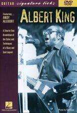 Albert King - Guitar Signature Licks [New DVD]