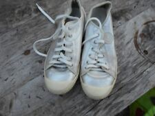 superbes chaussures PATAUGAS CUIR ARGENT T 38 TBE A 29€ ACH IMM FP RED MOND RELA