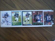 (5) ANDRE JOHNSON ROOKIE CARD LOT UD#253 , TOPPS BOWMAN +