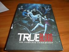 True Blood: The Complete Third Season (DVD, 2011, 5-Disc) Used 3rd 3 Three