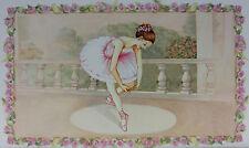 süßes Schmuckkästchen Schatulle mit Spieluhr  tanzende Ballerina Ballett