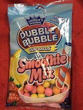 Americas Original Dubble Bubble Smoothie Mix Gumballs 5oz Bag Gum Balls